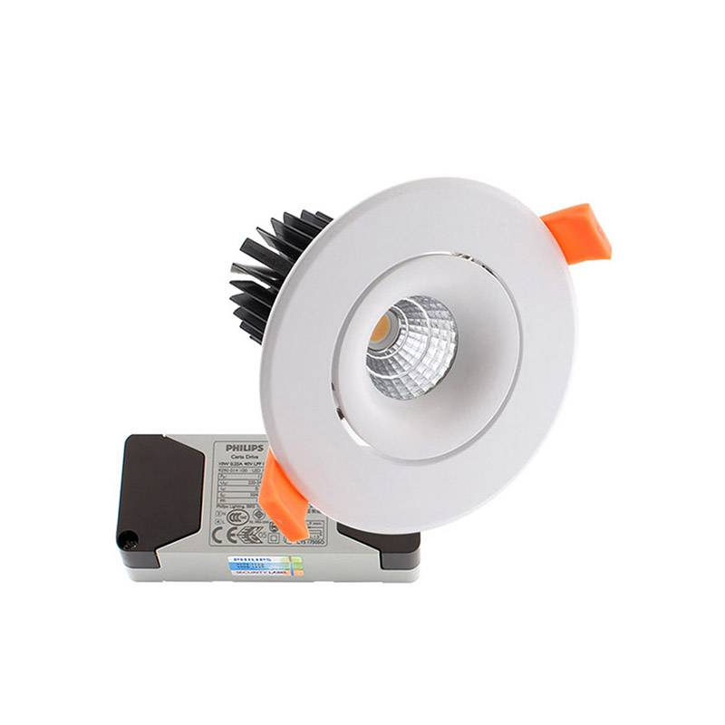 Downlight Led LUXON CREE 9W, Regulable, Blanco frío, Regulable